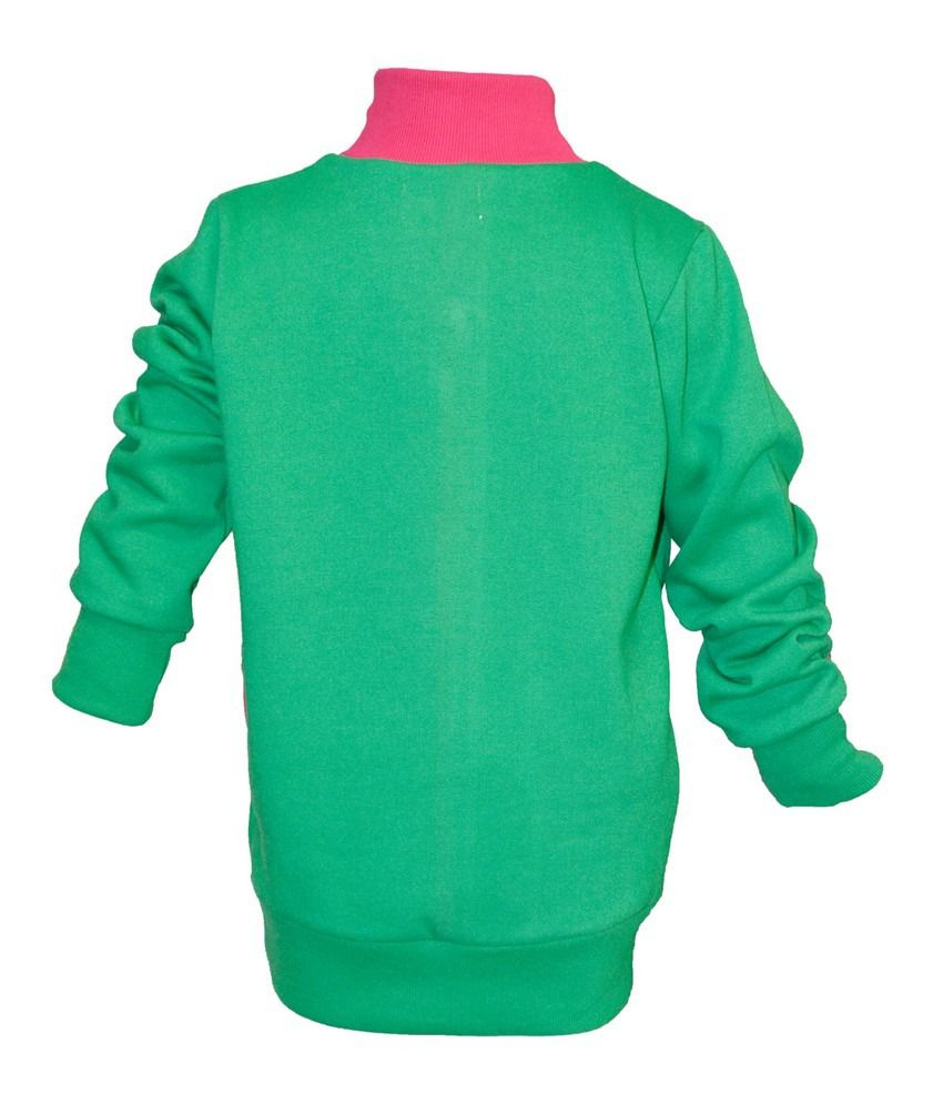 Cool Quotient Green Sweat Shirt