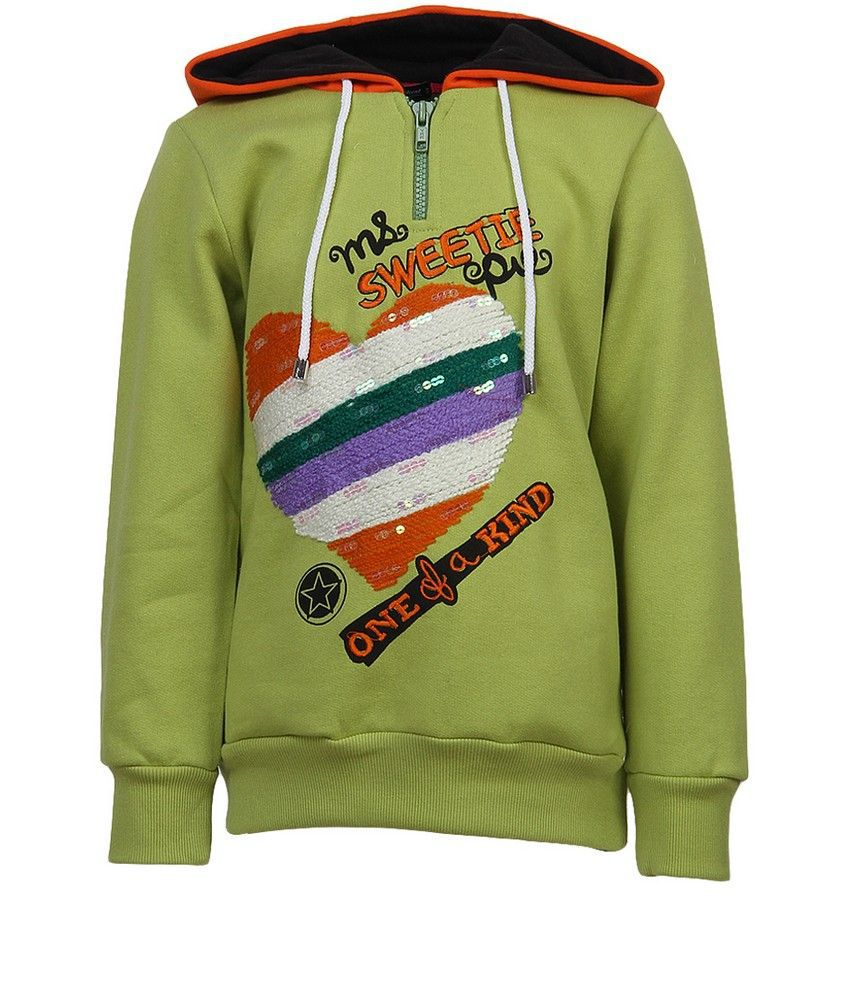 Cool Quotient L.Green Sweat Shirt