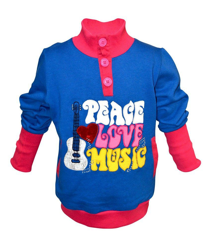 Cool Quotient R.Blue Sweat Shirt