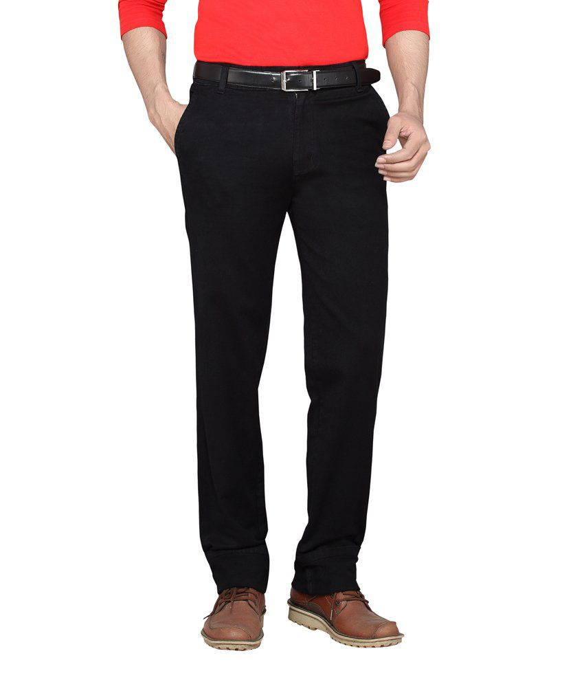 Dragaon Cross Pocket Black Relax Fit Jeans