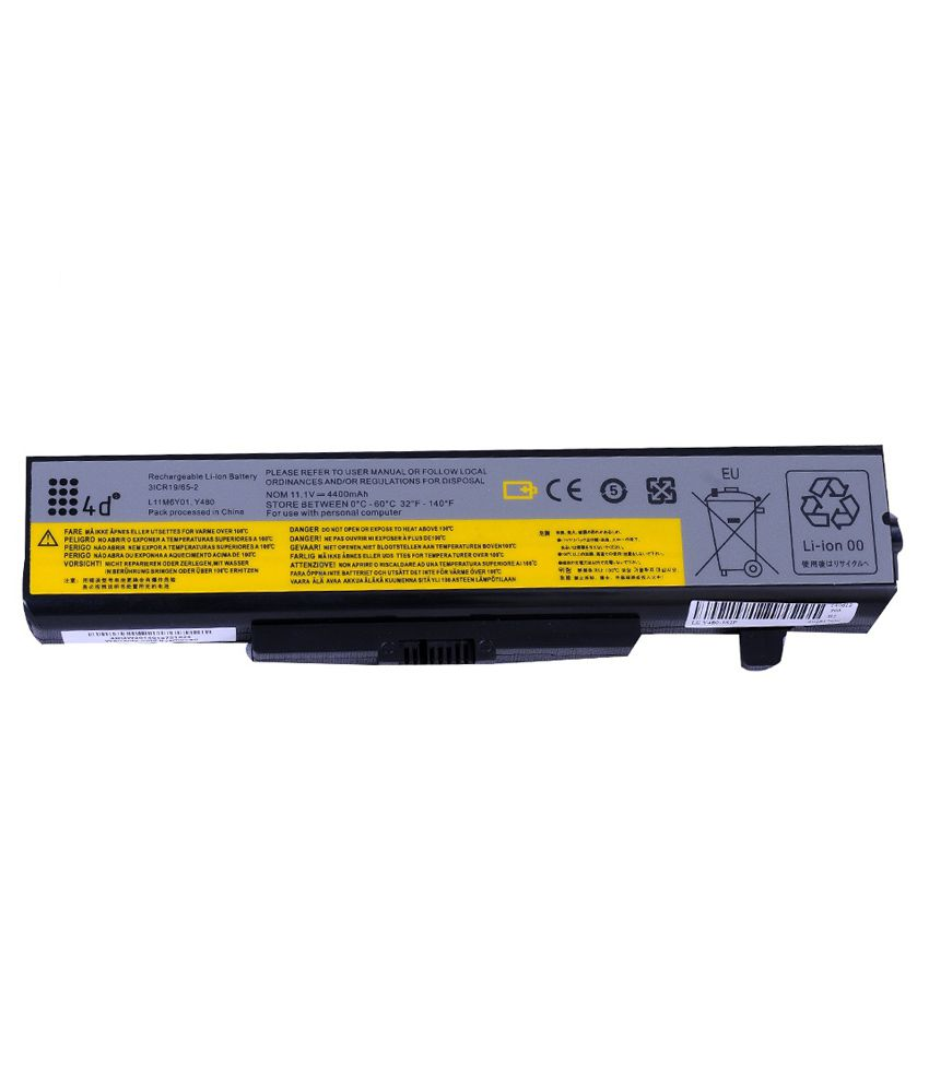 4d Lenovo Ideapad E530c 6 Cell Laptop Battery