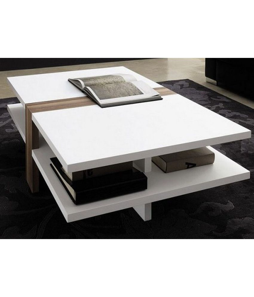 Furnish Living White Centre Table With Storage Buy Furnish Living