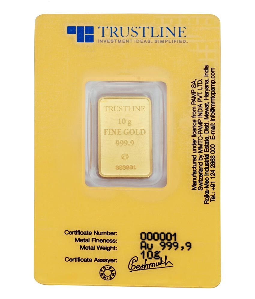 Trustline mmtc pamp certified 10gm 24kt fineness 9999 gold coin trustline mmtc pamp certified 10gm 24kt fineness 9999 gold coin 1betcityfo Images