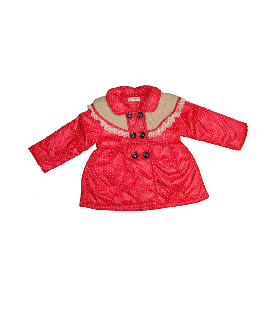 Bodingo Red Synthetic Full Sleeve Padded Jacket