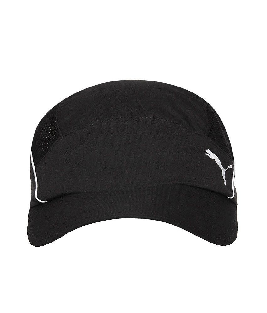 Puma Unisex Black Cap-83015301-X - Buy Online   Rs.  efe601df133