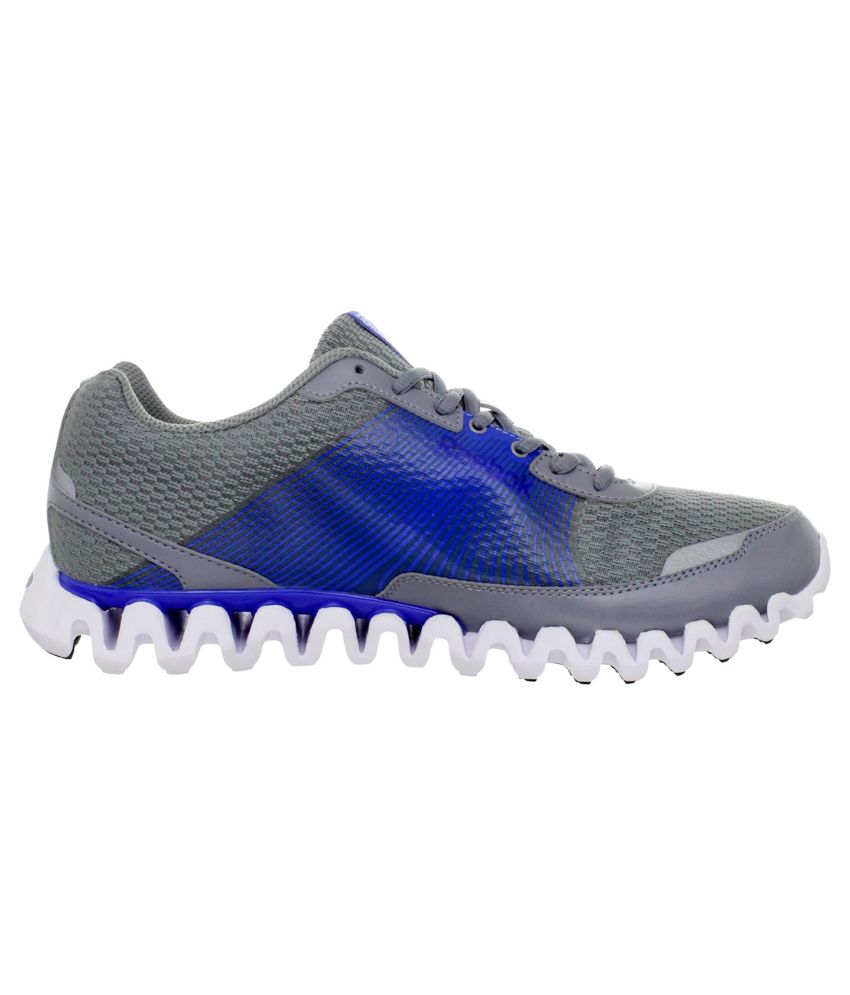 129dc677d289 Reebok Zignano Burn White vital Blue Sports Shoes - Buy Reebok ...
