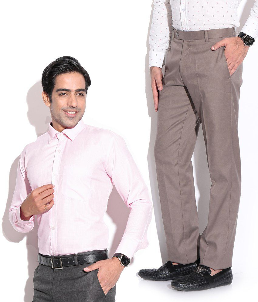 Men's Formal Trouser & Shirt