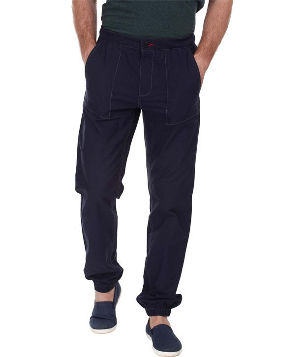 Zobello Relaxed Fit Oxford Cuff Pant