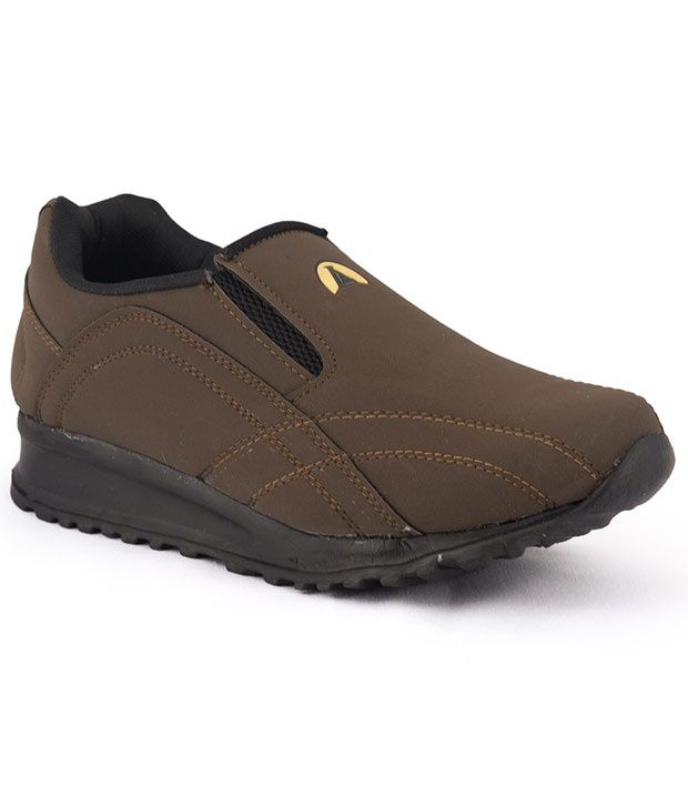 ASIAN Lifestyle Brown Casual Shoes