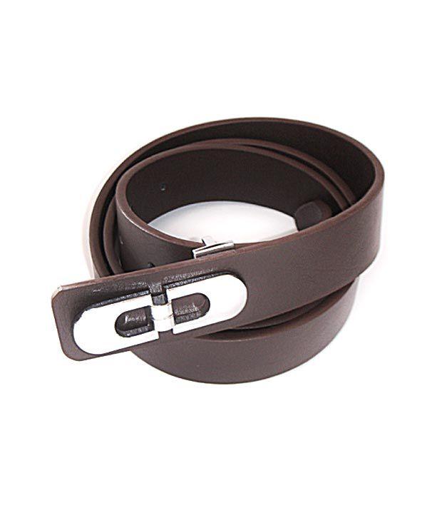 Sfa Mens Brown Formal Belt