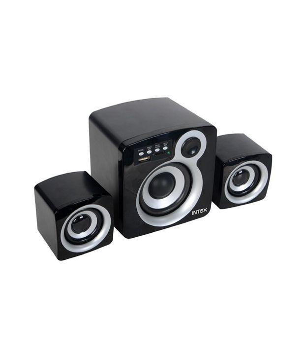 Intex IT - 850 U 2.1 Multimedia Speakers - Black