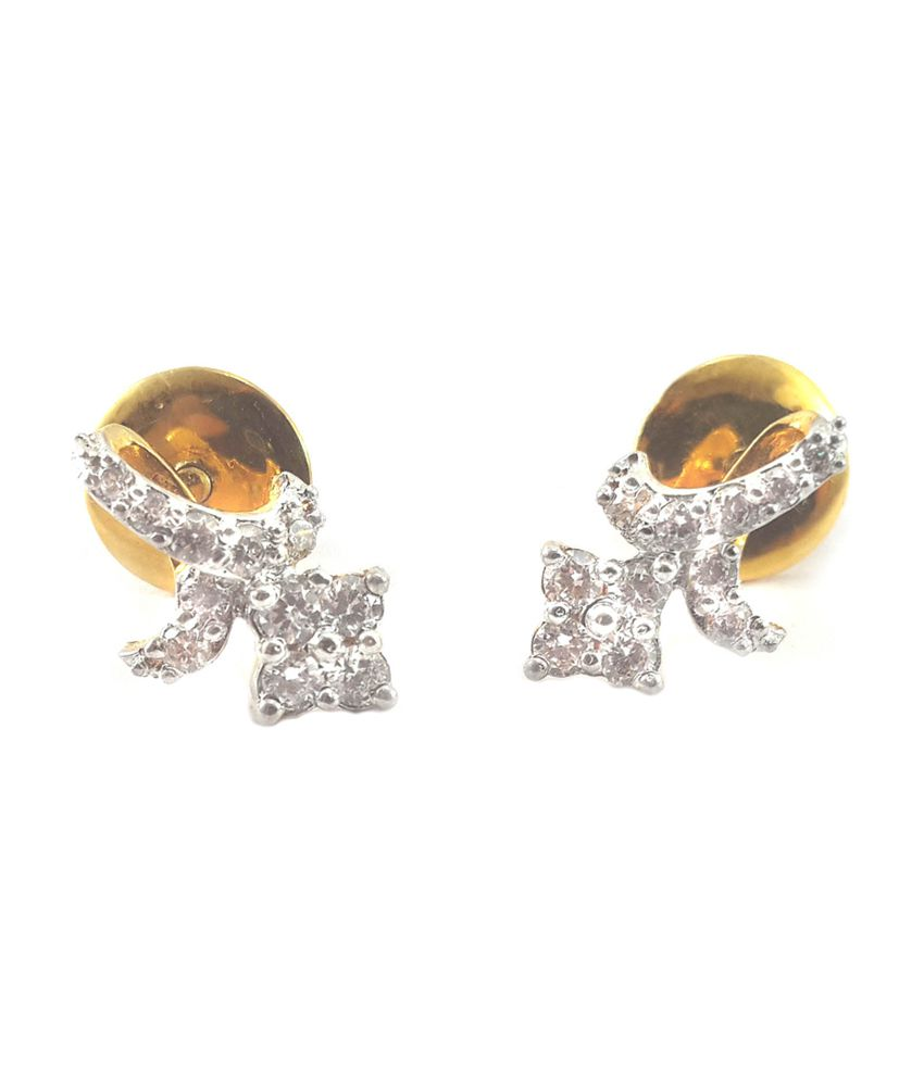 Silver Fashion Earring With Cubic Zirconia