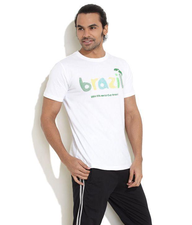 Fifa White Brazil World Cup T-Shirt