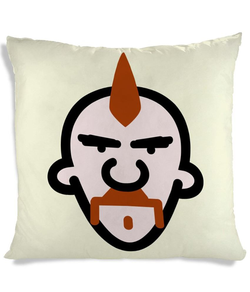 Imerch Mohawk Hair Style Cushion Cover