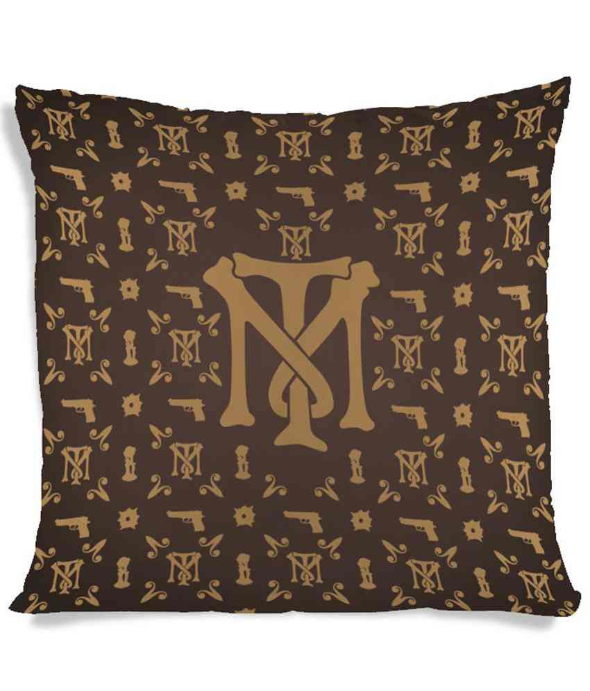Imerch Pistol Design Crafted Cushion Cover