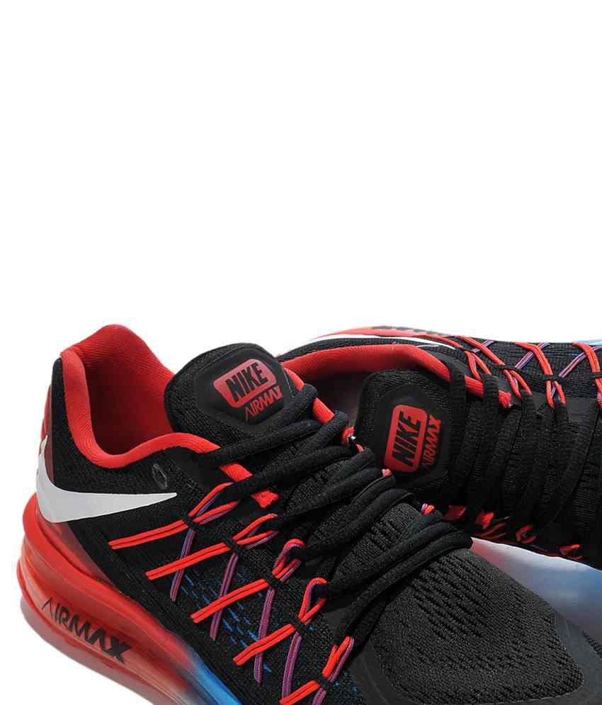 Nike Air Max 2015 Black Running Shoes - Buy Nike Air Max