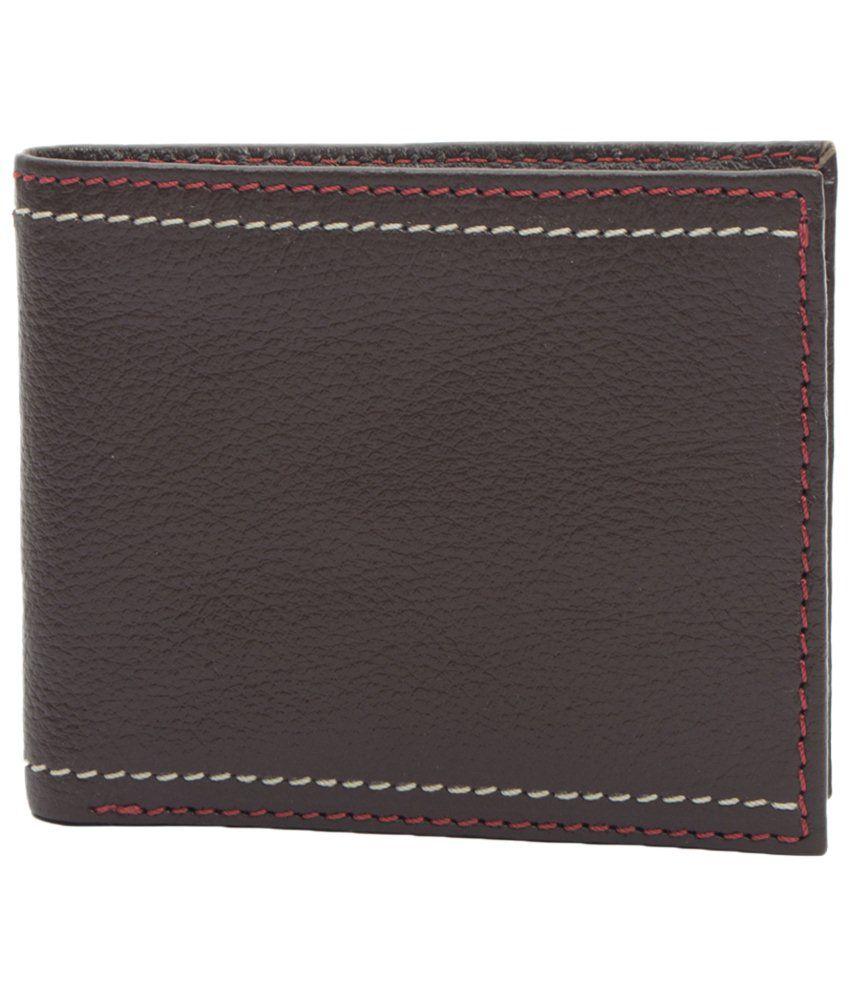 Paradigm Paradigm Brown Premium Wallet For Men