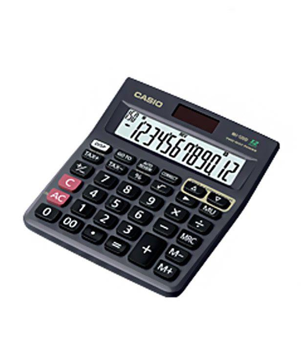 Casio Check Calculator Mj-120d ( Pack Of 2)