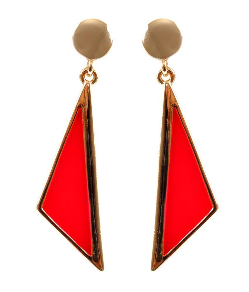 Cleo Mesmerizing Symmetry Drop Earrings