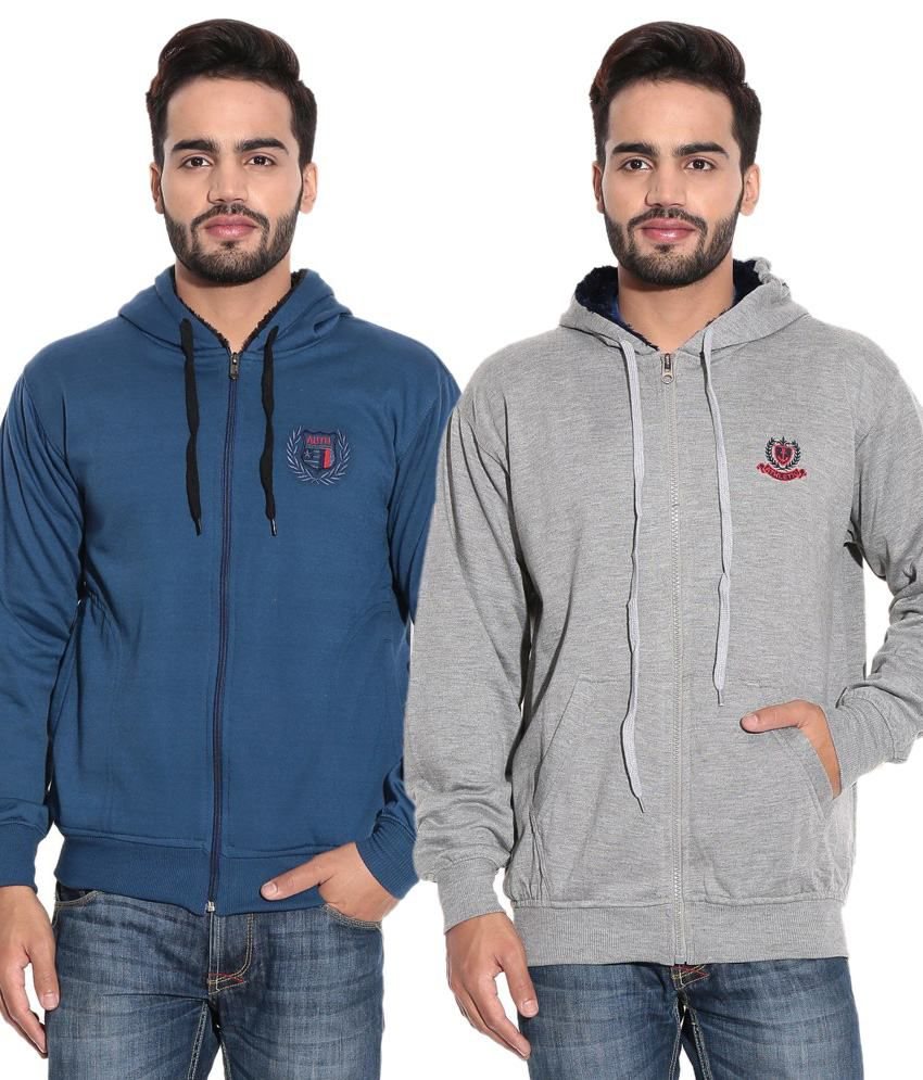 Kaasan Multi Cotton Sweatshirt Combo Of 2 - Buy Kaasan Multi Cotton Sweatshirt  Combo Of 2 Online at Low Price in India - Snapdeal 15128d6814bc