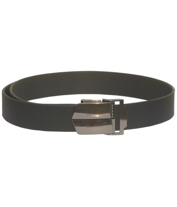 Sondagar Arts Black Leather Autolock Formal Men's Belt