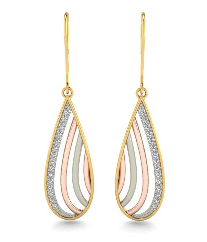 Astrum Diamonds 18kt Gold Fire And Icedrop Earrings