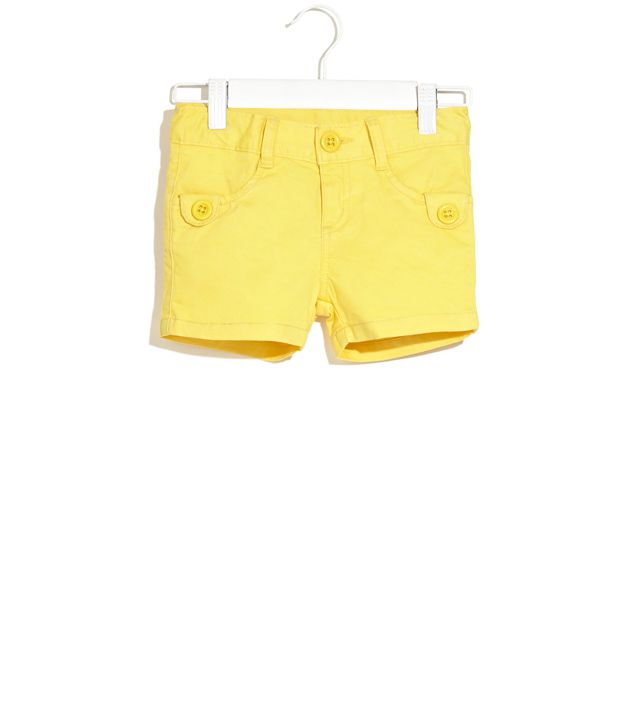 Dreamszone Yellow Melon Squash Shorts