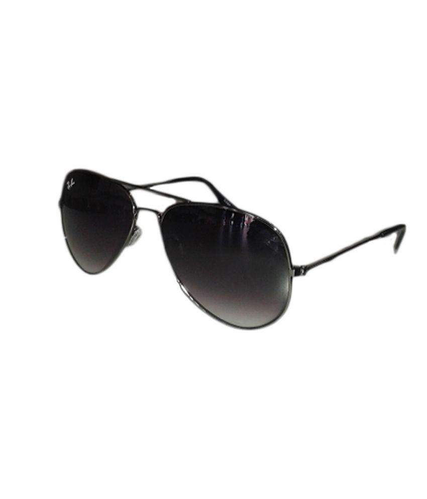 Gabbar Black Metal Designer Sunglasses