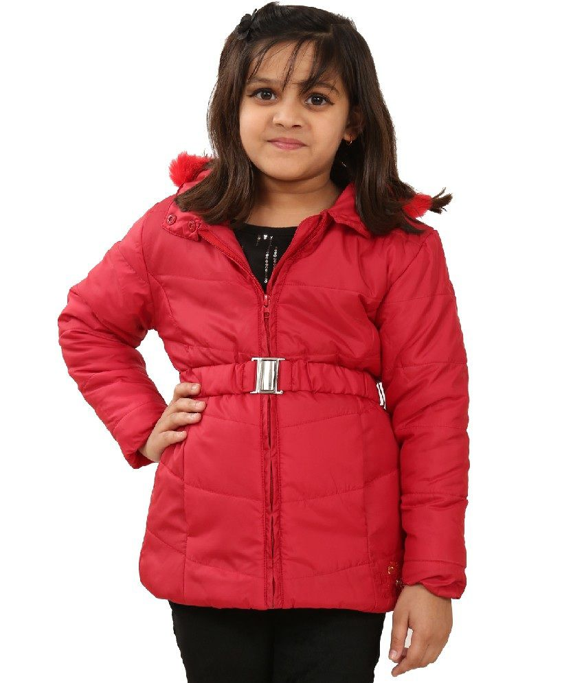 Sportking Red Color Jacket For Girl