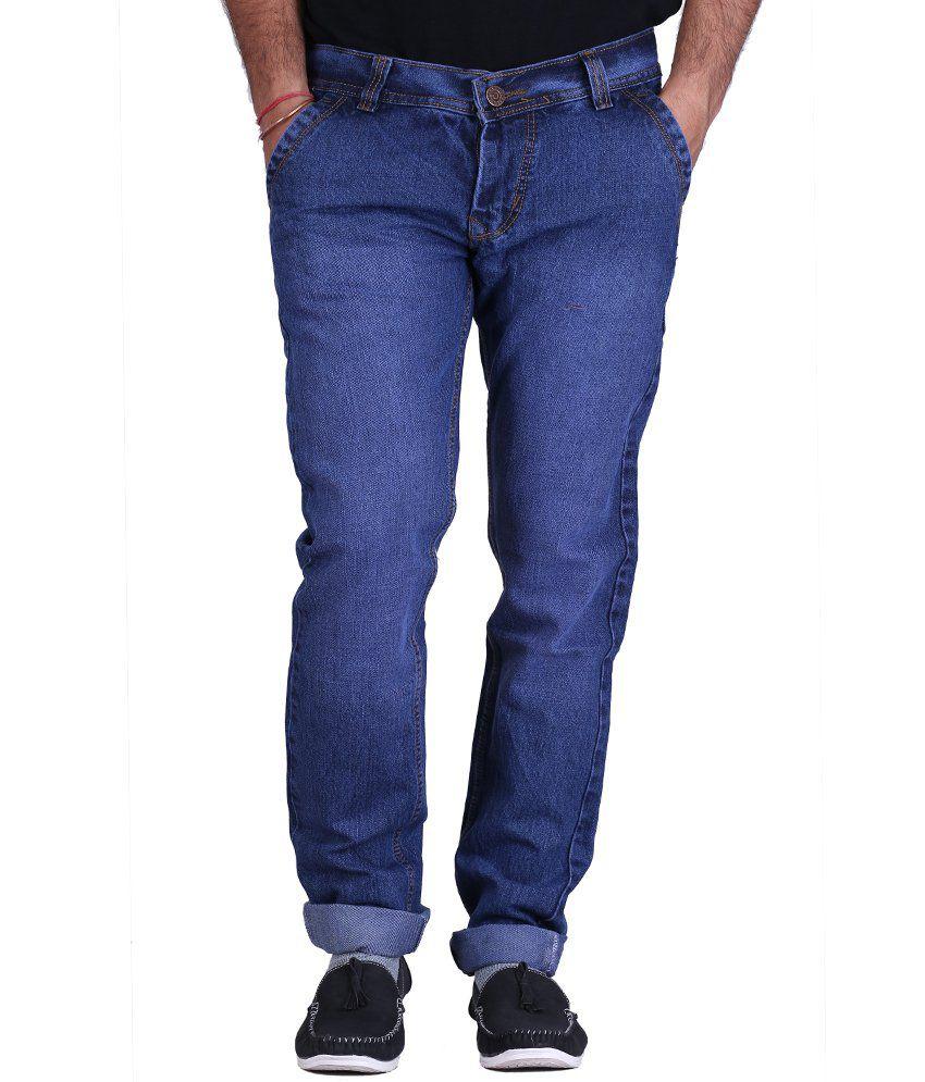 Kaasan Blue Strechable Jeans