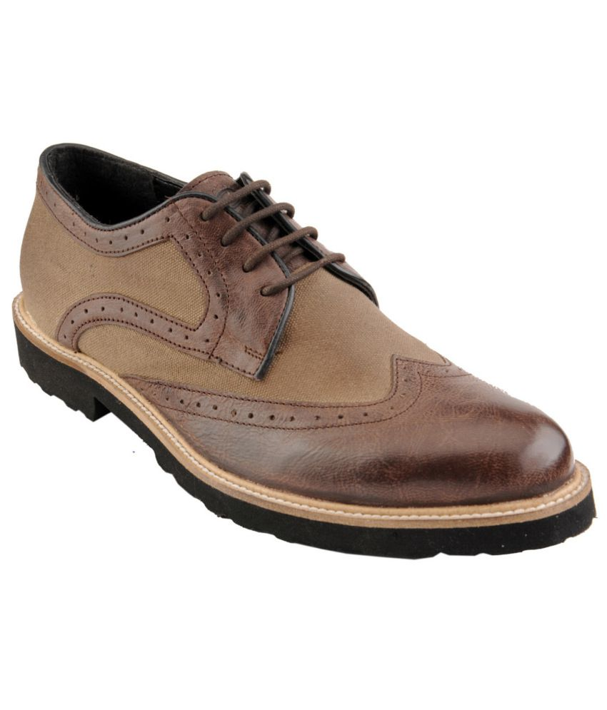 Delize Brown Casual Shoes