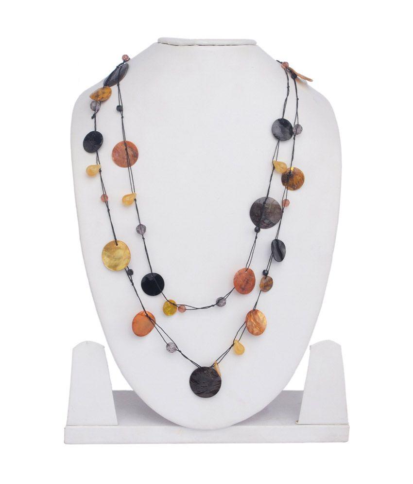 The Bling Studio Contemporary Multicolour Necklace