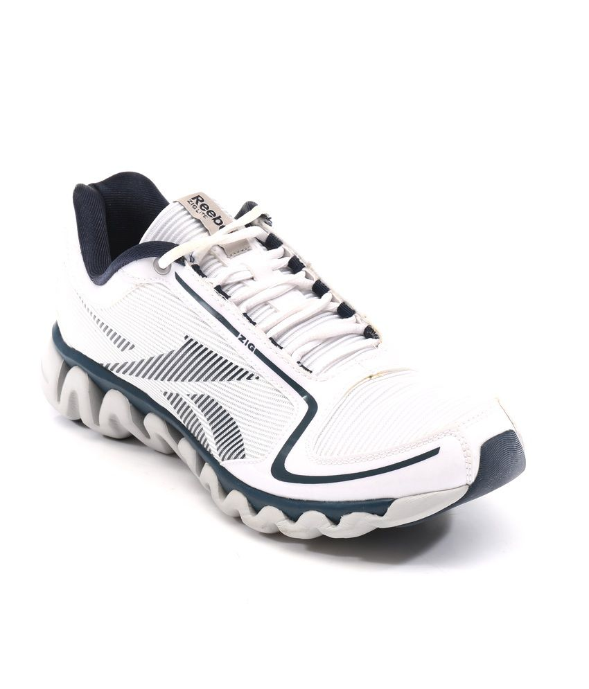 Reebok White Meshtextile Men's Sport Shoes