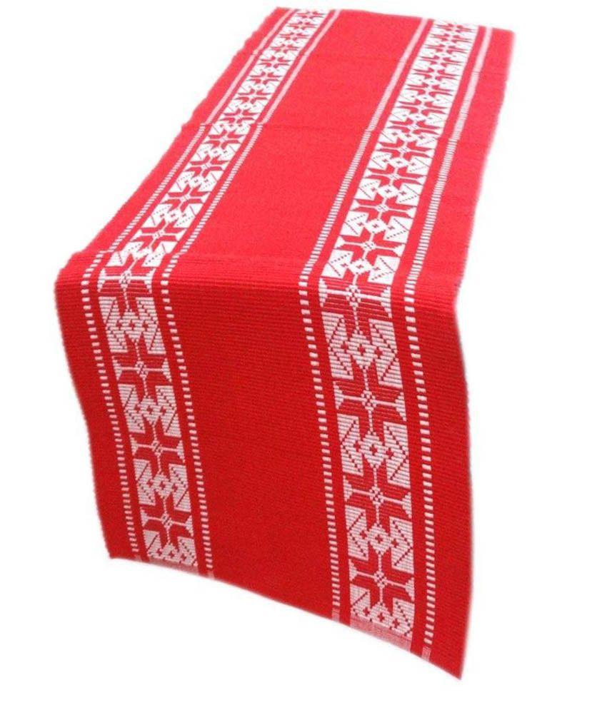 cotonex red table runner buy cotonex red table runner. Black Bedroom Furniture Sets. Home Design Ideas