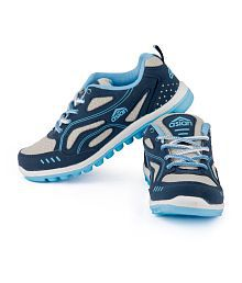 Asian Navy Lace Lifestyle Sports Shoes