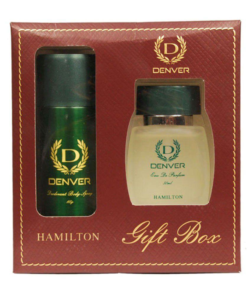 Gift Pack Denver Hamilton Deo 150ml And Edt Perfume 100ml