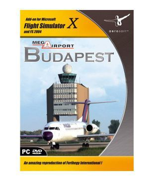 Aerosoft Mega Airport Budapest - Requires Fsx Or Fs2004 (addon Only)