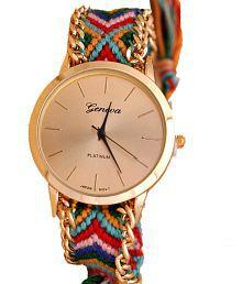 Geneva Multicolour Analog Party Wear Watch