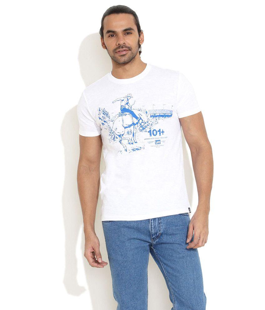 Lee White Ranger T-Shirt