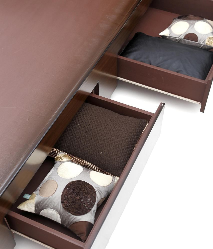 Looking Good Furniture Style Spa Design King Size With Storage Bed
