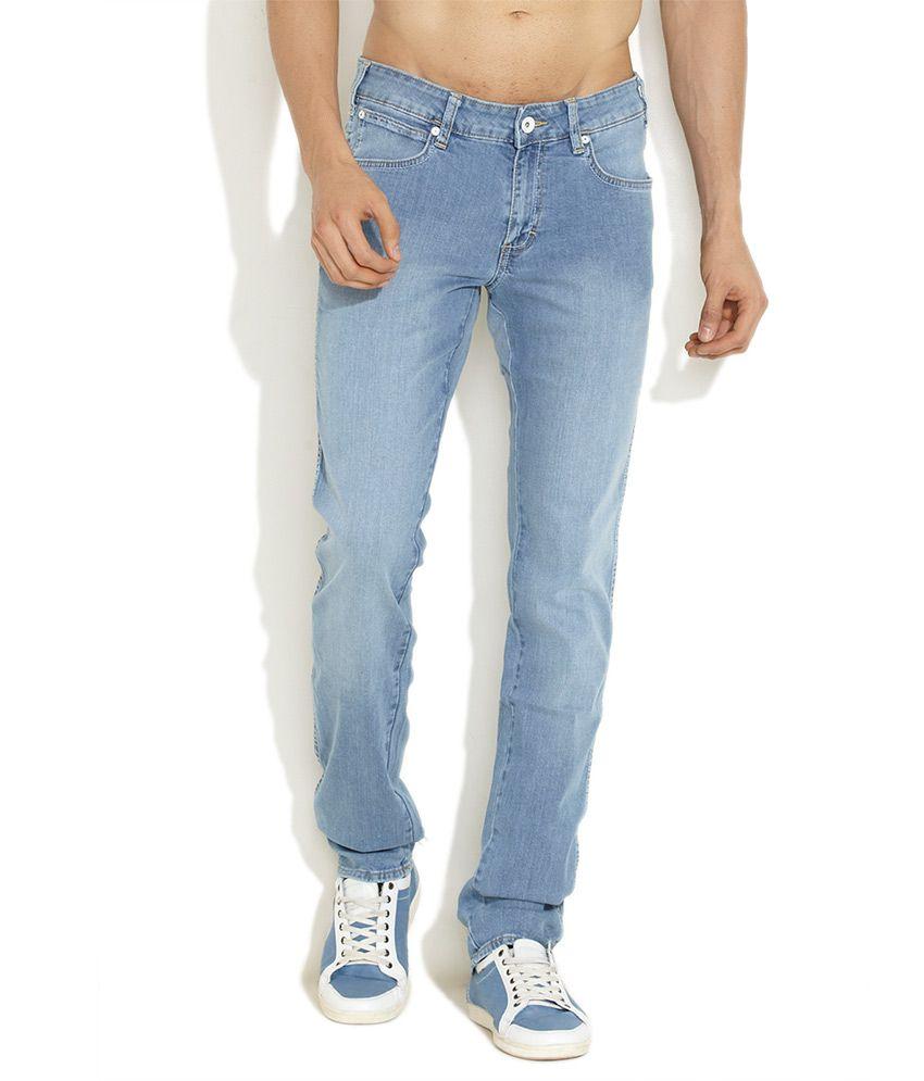 Wrangler Sky blue Skanders Slim & Narrow Leg Jeans