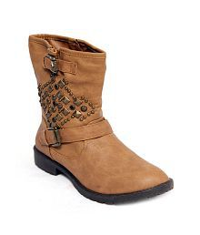 fa9d6e3e213f5 Women's Boots: Buy Women's Boots Online at Best Prices in India ...