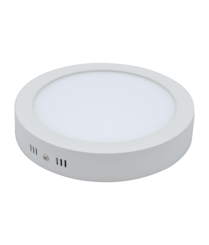 Dimmable Led Ceiling Lights India: Bloo 18 Watt Led Surface Mounting Ceiling Light Round: Buy