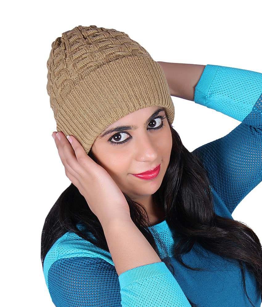 Denovo Stylish Woollen Cap