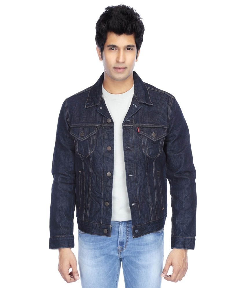6099baed Levi's Blue Trucker Denim Jacket - Buy Levi's Blue Trucker Denim Jacket  Online at Best Prices in India on Snapdeal