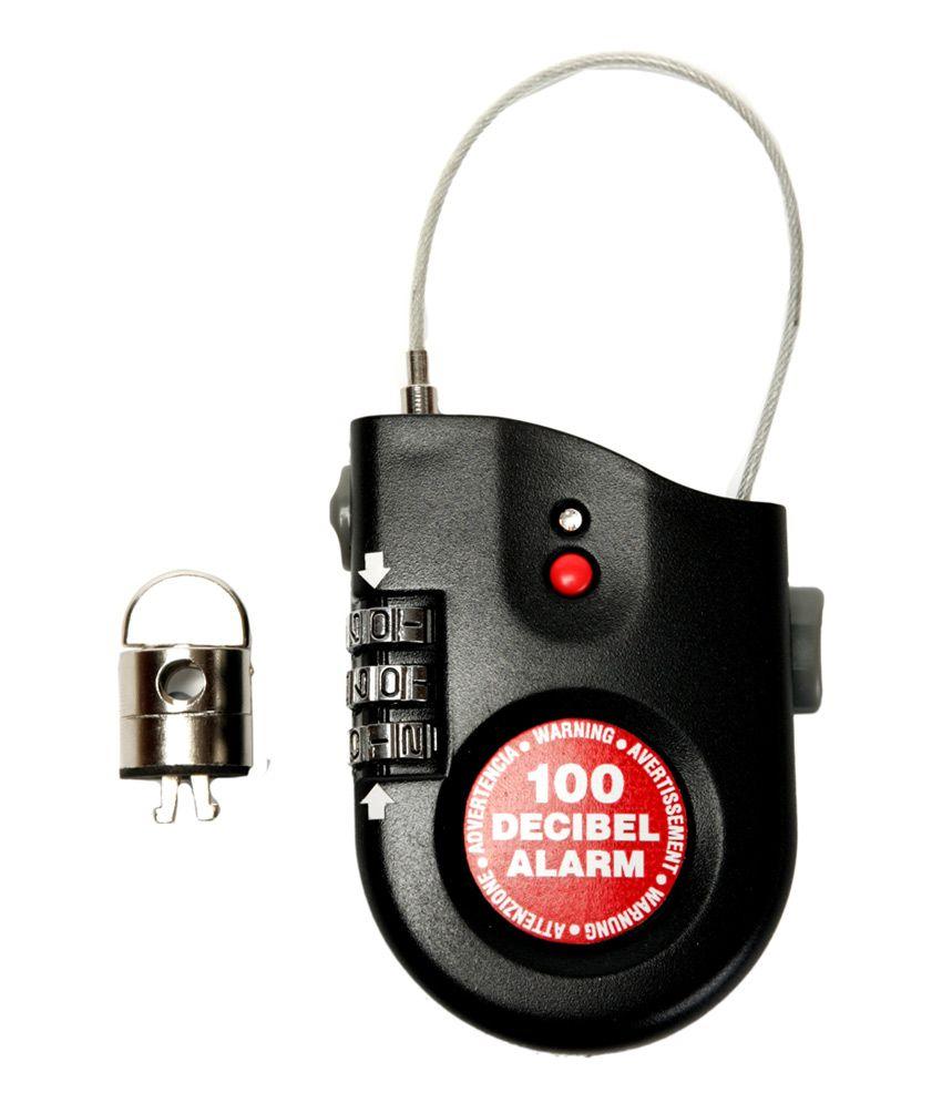 Lock Alarm USA - Anti Theft Siren Alarm Multipurpose Keyless Combination Mini Lock
