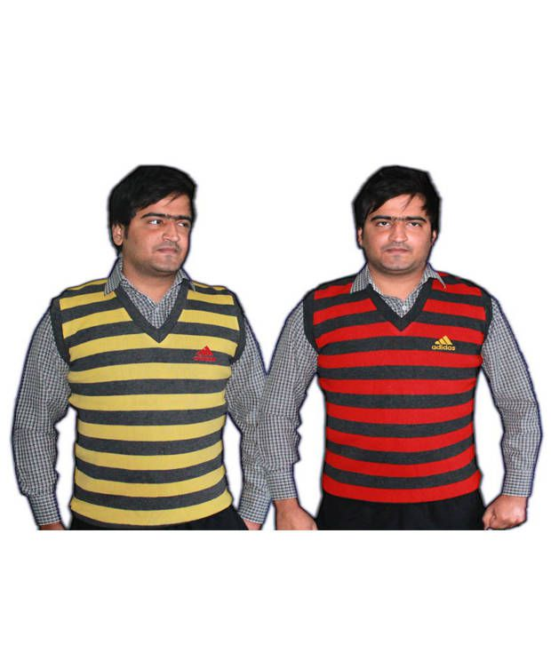 afea38f0 Oswal Men Striped Half Sleeves Sweater-pack Of 2 - Buy Oswal Men Striped  Half Sleeves Sweater-pack Of 2 Online at Best Prices in India on Snapdeal