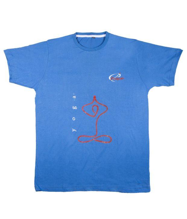 Prokyde Blue Yoga T-shirt