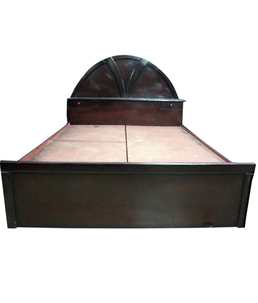 Unique Enterprises D-round Bed Without Storage - Buy ...