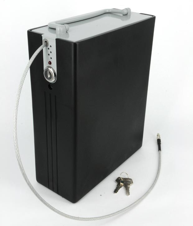 Lock Alarm USA - HandiSafe - Portable alarmed safe (Part Number - 6111) - Electronic Anti Theft Security